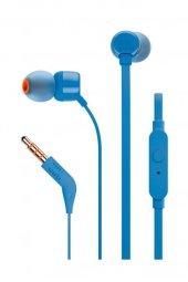 Jbl T110 Kablolu Kulak İçi Kulaklık Ct Ie Mavi