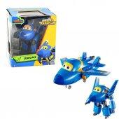 Orijinal Harika Kanatlar Super Wings Robota Dönüşen Oyuncak Jerom