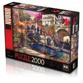 Ks Puzzle 2000 Parça Love İn Venice