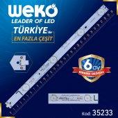 Weko 40DB 4X11 MBL-40035D411EH0-V2-L - ECHOM-40CL_4640CL042_A1 - L Type - 30 cm 4 Ledli - (WK-900)