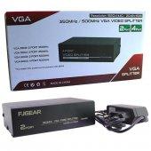 POWERMASTER PM-3502 2 PORT VGA SPLITTER DAĞITICI (350MHZ - 1920X1440)