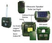 Powermaster Solar Panelli Sensörlü 7 Sesli Yaban Domuzu Ve Hayvan Kovucu