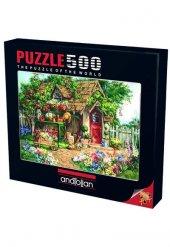 ANATOLİAN Puzzle500 pcsCennet Bahçesi / Gardeners Haven
