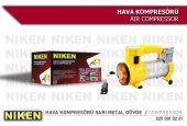 Araç Lastik Hava Kompresörü Metal Gövde Sarı Niken