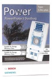 Bosch G ALL VS63A1 - VS63A9 Power Protect Toz Torbası