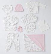 Wonderkids Kız Bebek Hastane Çıkışı 10 Lu Set