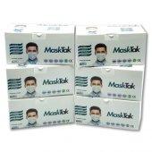 Masktak Maske 300lü Ultrasonic 3 Katlı Burun...