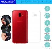 Samsung Galaxy J6 Plus Arka Nano Glass Ekran Koruyucu