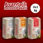 Kappadokia Karabuğday (Greçka) Un 1kg + Yulaf Un 1 Kg + Siyez Extra Un 1 Kg