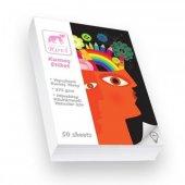 Rovi Fine-Art Kumaş Yüzeyli Etiket - 275gsm - 50yp - 10x15