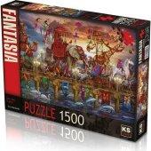 1500 Parça One Way Traffic Puzzle