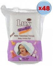 Lüx Bebek Temizleme Pamuğu 2880 Adet (48pk*60)