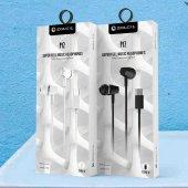 Oppo Reno 3 Pro Süper Bass Type C Mikrofonlu Kulak İçi Kulaklık P12