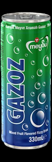 Meysu Gazoz 330 Ml X 24 (Karışık Meyve Aromalı...