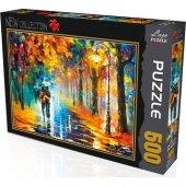 500 Parça Sonbaharda Aşk Puzzle