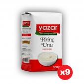 Yazar 500Gr Pirinç Unu x 9Paket  =4500Gr