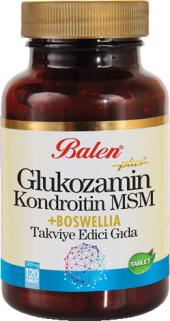 Balen Glukozamin Kapsül 120 Adet Bitkisel Gıda...