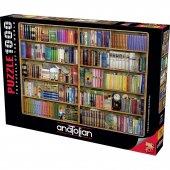 Anatolian Kitaplık 1000 Parça Puzzle