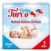 Baby Turco Bebek Bakım Örtüsü 7 Adet