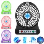 Portable Mini Fan 3 Kademeli Usb Li Fan