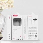 Oppo A5s Süper Bass Mikrofonlu Kulak İçi Silikonlu Kulaklık 3.5mm