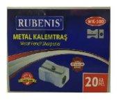 Rubenis Metal Kalemtıraş 20 Adet