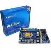 Esonic H81 Jak Pci Express X16,x1 Ddr3 1150p...