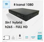 8 Kanal 5 İn 1 Hybrid Dvr Xvr Kayıt Cihazı Xmeye Yazılım Vga Hdmi Full Hd