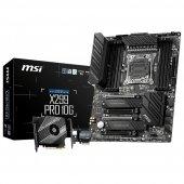 Msı X299 Pro 10g 4200(Oc) Ddr4 2xm.2 Usb 3.2...