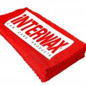 INTERWAX 3 ADET MİKROFİBER BEZ 40x40 CM LAZER KESİM (KENARSIZ)