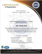 5 ADET CE ve ISO 13485 SERTIFIKALI ULTRASONIK BURUN TELLİ, 3 KATLI DMK MASKE-8