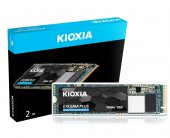 Kioxia Exceria Plus 2tb Nvme M.2 Ssd 3400 3200 Mb S (Bk Lrd10z002tg8)