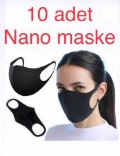 10 Adet Nano Maske