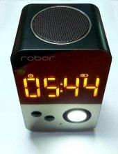 Robor Bluetooth Hoparlör R38 Siyah Tech Series