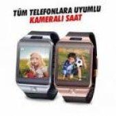 Sim Kartlı, Bluetoothlu, Hafıza Kartlı Ve Kameralı Akıllı Saat Dz09 Smart Watch