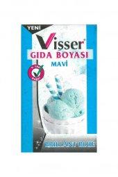 Visser Toz Gıda Boyası 9 Gram Mavi