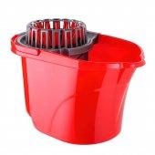 Titiz Cameon Temizlik Seti Kovası Sıkma Aparatlı 16 Litre Kırmızı