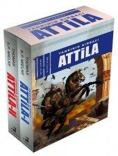 Tanrının Kırbacı Attila (2 Kitap Takım) Thomas R. P. Mielke Olimpos Yayınları