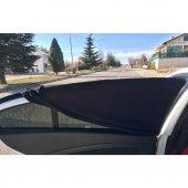Araba Araç Oto Yan Cam Güneşlik Örtü Perde Kılıf Güneşliği