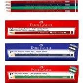 Faber-Castell kırmızı-Yeşil-mavi Kopya Boya Kalemi 12 Lİ