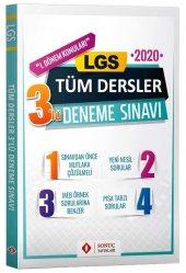 8.sınıf Lgs 1.dönem Tüm Dersler 3 Lü Deneme Sonuç Yayınları