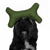 Kemik Şekilli Köpek Oyuncağı 10 24 Cm Yeşil