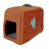 Flipper Kedi Köpek Yatağı Kalpli Çanta Model...