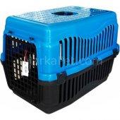 Köpek Taşıma Çantası 40*46*60 Cm Mavi Large