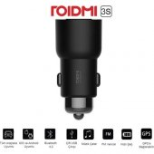 Roidmi 3s Bluetooth Araç Şarj Cihazı