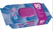 10 Paket 90 Lı Rosalina Islak Havlu (Mendil)