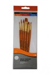 Daler Rowney Gold Taklon Synthetic 7li Fırça Seti