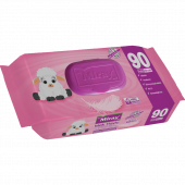 5 Paket 90 Lı Miray Islak Havlu (Mendil)