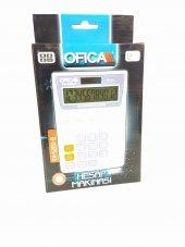 Ofica Hesap Makinesi Masa Tipi 12 Hane Beyaz Tax'lı Fh 5200 B