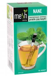 Mesh Stick Tea Nane Çayı 16 Adet Damlatmayan,...